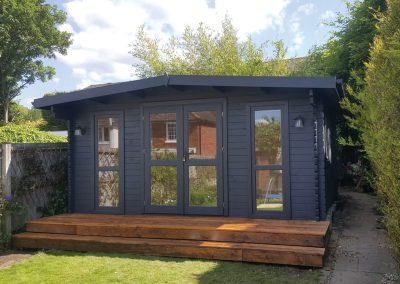 Garden Office Grey